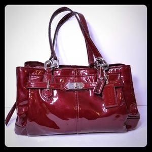 Coach Chelsea Patent Leather Jayden F17855